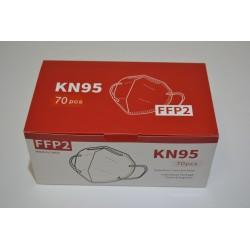 Respirátor FFP 2 - KN95 70ks