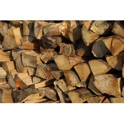 palivové dřevo TVRDÉ - AKÁT štípané