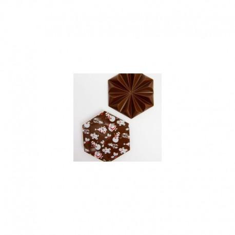 Čokoládová tabulka hořká s vánočním motivem