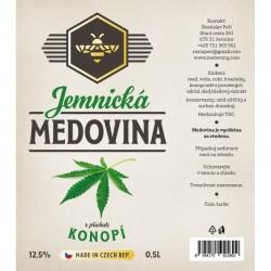 JEMNICKÁ MEDOVINA - KONOPÍ