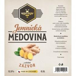 JEMNICKÁ MEDOVINA - ZÁZVOR
