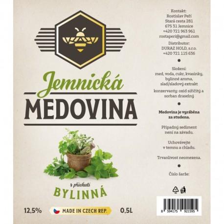 JEMNICKÁ MEDOVINA - BYLINKY
